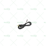 HP 121565-001 Power Cord - AC LN, DOM, SVT, UNSHLD, Black.